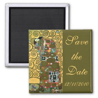 Vintage Save the Date, Fulfillment by Klimt Magnet