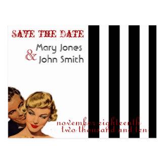 Vintage Save The Date Postcards