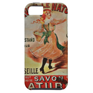 Vintage Savon Naturel iPhone SE/5/5s Case