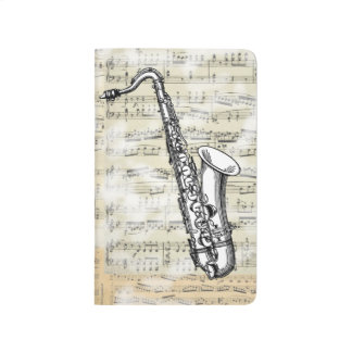 Vintage Saxophone Music Journal