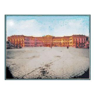 Vintage Schonbrunn, postal de Austria