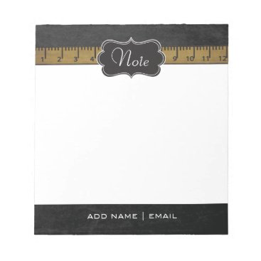 Professional Business Vintage School Design Notepad