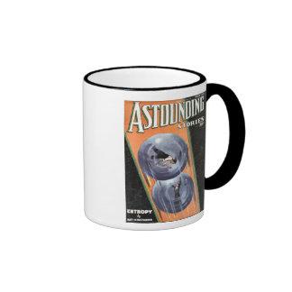 Vintage Sci Fi Comic Astounding Stories Entropy Ringer Mug