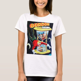 Vintage Sci-Fi Comic Book Cover T-Shirt