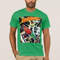 Vintage Sci-Fi Comic Book T-Shirt