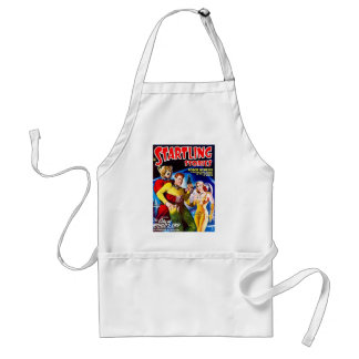 Vintage Sci-Fi Comic The City at World's End Adult Apron