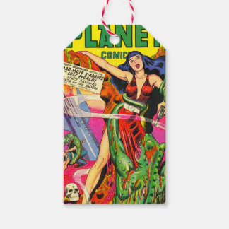 VINTAGE SCI FI COMICS Custom Gift Tags