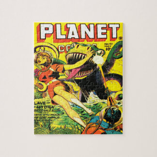 VINTAGE SCI FI COMICS Photo Puzzle with Gift Box