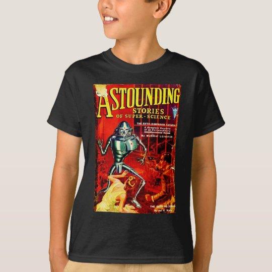 Vintage Sci-Fi Magazine T-Shirt