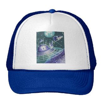 Vintage Sci Fi - Space Travel / UFO Trucker Hat