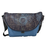 Vintage Science Book Illustration Courier Bag