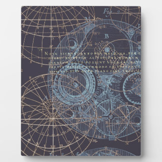Vintage Science Book Illustration Display Plaques
