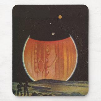Vintage Science Fiction, Astronauts on Ganymede Mousepads
