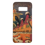 Vintage Science Fiction Futuristic City Flying Car Case-Mate Samsung Galaxy S8 Case