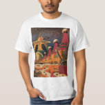 Vintage Science Fiction Futuristic City Flying Car T-Shirt