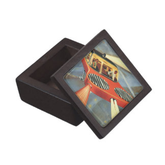 Vintage Science Fiction Futuristic Flying Car Gift Box
