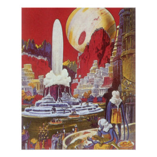 Vintage Science Fiction, Lost City of Atlantis Posters