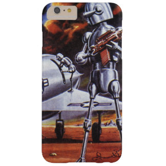 Vintage Science Fiction Military Robot Soldiers Barely There iPhone 6 Plus Case
