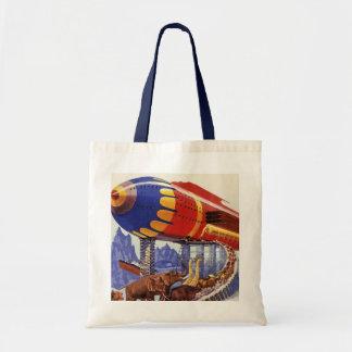 Vintage Science Fiction, Noah's Ark Wild Animals Tote Bag