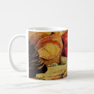 Vintage Science Fiction Quarry Planet Travelers Coffee Mug