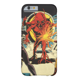 Vintage Science Fiction, Sci Fi Alien Attacking Barely There iPhone 6 Case