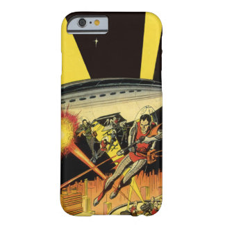Vintage Science Fiction, Sci Fi Aliens from UFO Barely There iPhone 6 Case