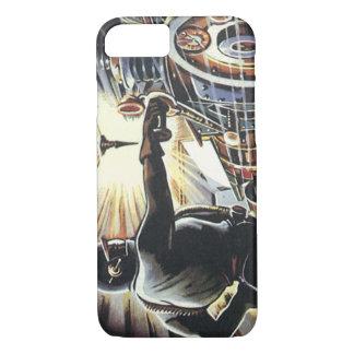 Vintage Science Fiction Sci Fi Futuristic Machines iPhone 8/7 Case