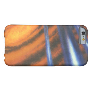 Vintage Science Fiction, Sci Fi Red Galaxy Swirls Barely There iPhone 6 Case