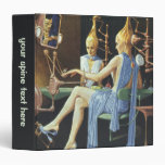 Vintage Science Fiction Spa Beauty Salon Manicures Binders