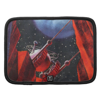 Vintage Science Fiction Space Moon Rover Organizer