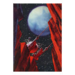 Vintage Science Fiction Space Moon Rover Posters