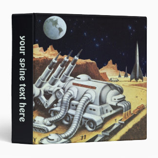 Vintage Science Fiction, Space Station on the Moon Binder