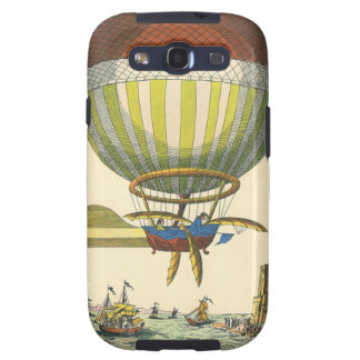 Vintage Science Fiction Steampunk Hot Air Balloon Samsung Galaxy S3 Case
