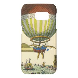 Vintage Science Fiction Steampunk Hot Air Balloon Samsung Galaxy S7 Case