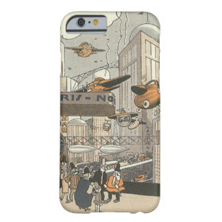 Vintage Science Fiction Urban Paris, Steam Punk Barely There iPhone 6 Case