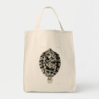 Vintage Science NZ Fish - Lemon Sole Tote Bag