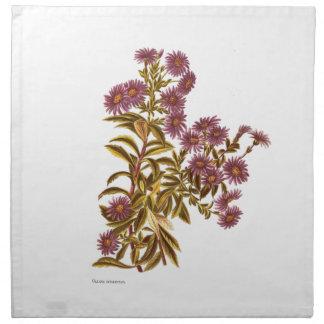 Vintage Science NZ Flowers - Olearia semidentata Napkin