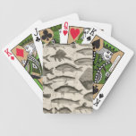 Vintage Scientific Fish Swimming Amazon River Fins Bicycle Playing Cards