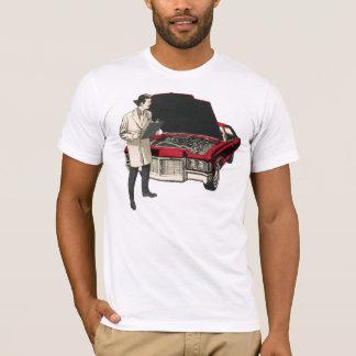VIntage Scientist and Car TShirt