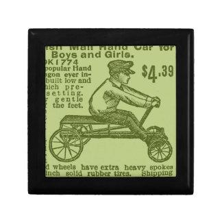 vintage scooter keepsake boxes