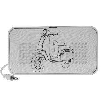 Vintage Scooter Portable Speaker