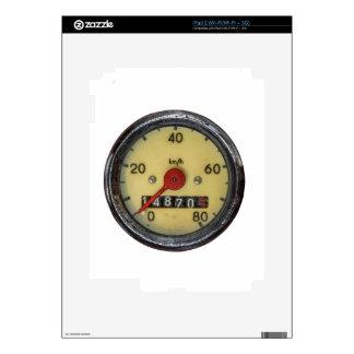 Vintage Scooter Speedometer iPad 2 Decal