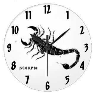 Vintage Scorpio Wall Clock