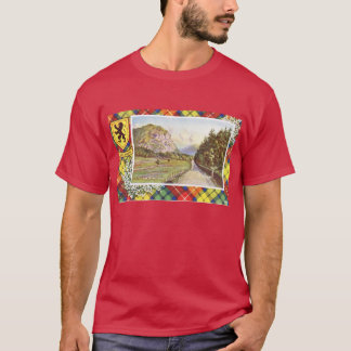 Vintage Scotland, Buchanon tartan T-Shirt