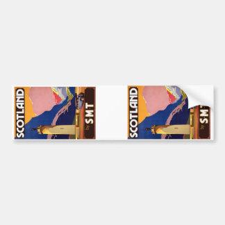 Vintage Scotland Bumper Stickers