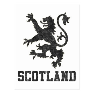 Vintage Scotland Post Card