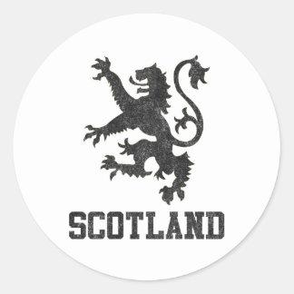 Vintage Scotland Stickers
