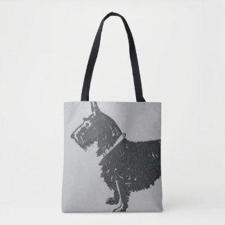 Vintage Scottie Tote Bag