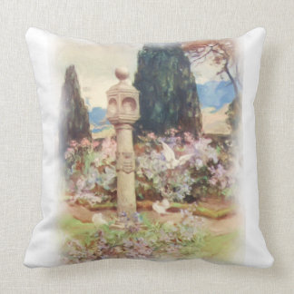 Vintage Scottish Country Garden Pillows