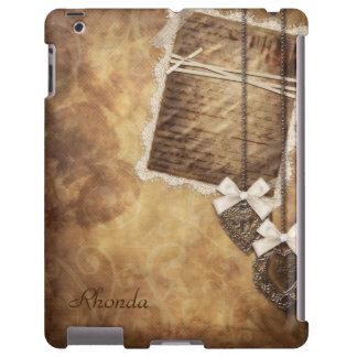Vintage Scrapbook Page iPad Case